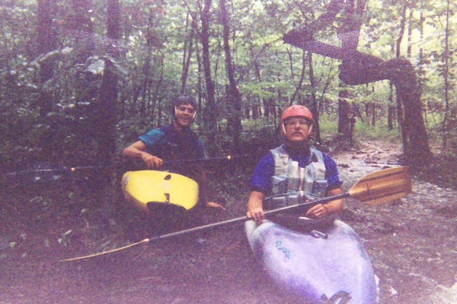 Chuck and Chris at Taum Sauk Creek