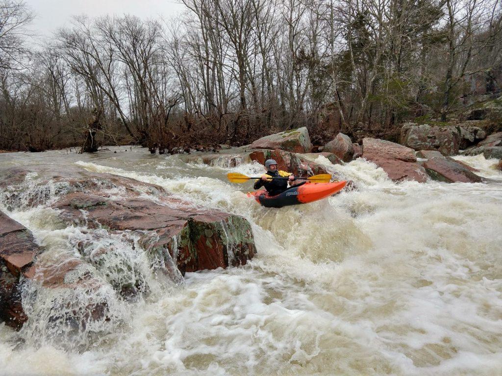 Castor River - First Drop